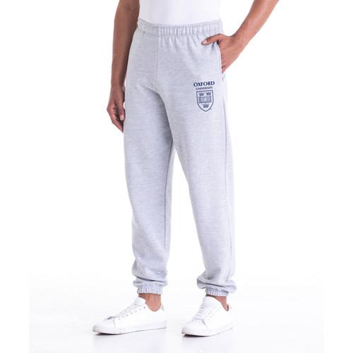 Oxford University Crest Unisex Joggers - Grey