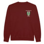 Green Templeton College Embroidered Sweatshirt - Burgundy