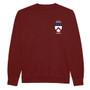 Keble College Embroidered Sweatshirt - Burgundy