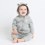 Radcliffe Camera Long Sleeve Baby Bodysuit with Hood