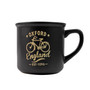 Black Oxford England Bike Mug