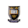 Oxford University Shield and Scroll Infill Metal Pin Badge