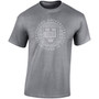 Official Oxford University Distressed Crest T-Shirt - Dark Heather