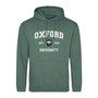 Official Oxford University 'collegiate style' Pastel Hoodie