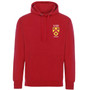 All Souls College Embroidered Hoodie - Red