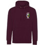 Lincoln College Embroidered Hoodie - Maroon