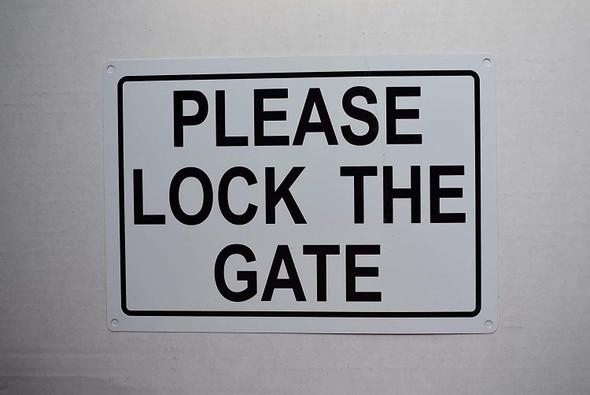 Please Lock GATE