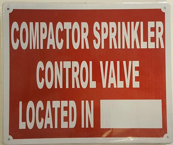 COMPACTOR ROOM CONTROL VALVE