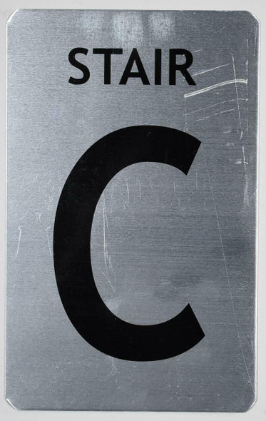 Stair C  Signage