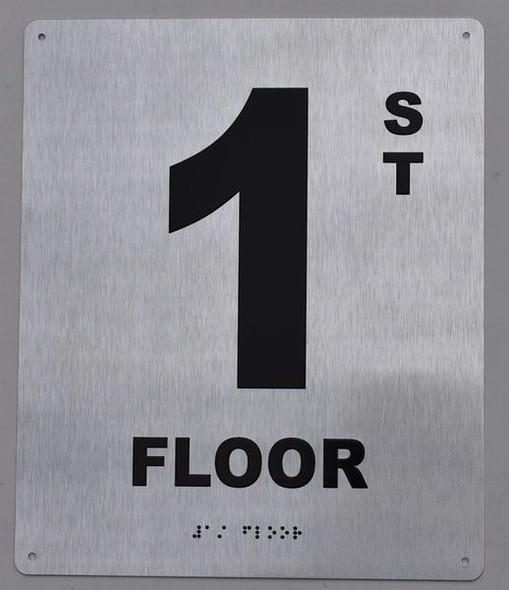 1ST Floor  Signage ada