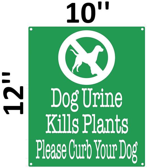 Dog Urine Kills Plants Please Curb Your Dog Green,