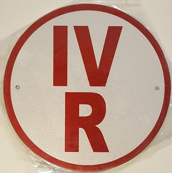 IV-R Floor Truss Circular  Signage