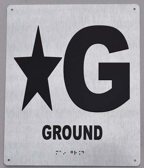 Star Ground Floor - Tactile Touch Braille