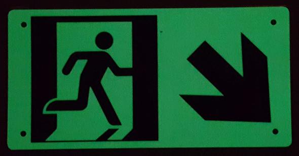 RUNNING MAN DOWN RIGHT  -