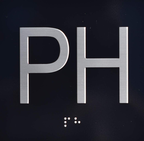 PH Elevator Jamb Plate  Signage