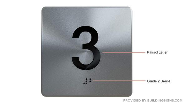 3RD Floor Elevator Jamb Plate