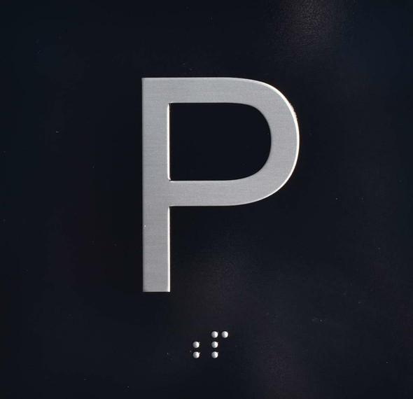 P Elevator Jamb Plate  Parking
