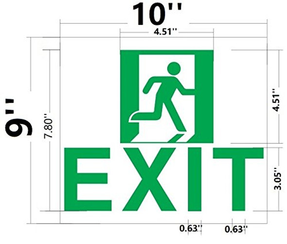 Exit  Glow in The Dark