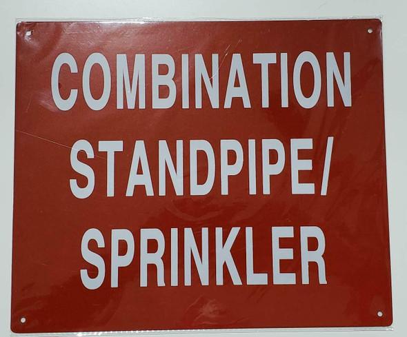 Combination Standpipe/Sprinkler  Signage