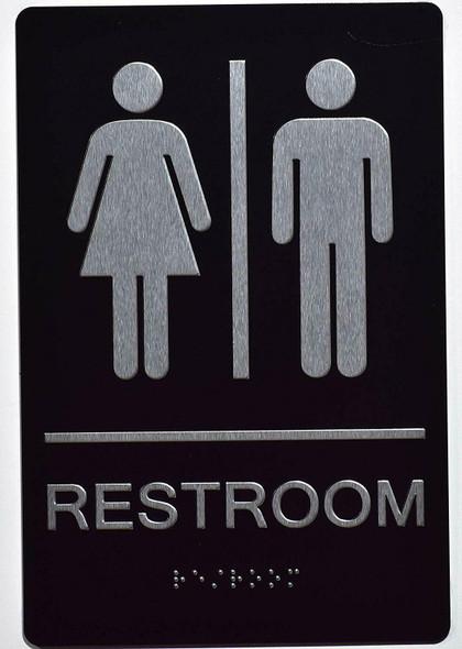 Unisex ACCESSIBLE Restroom  Signage