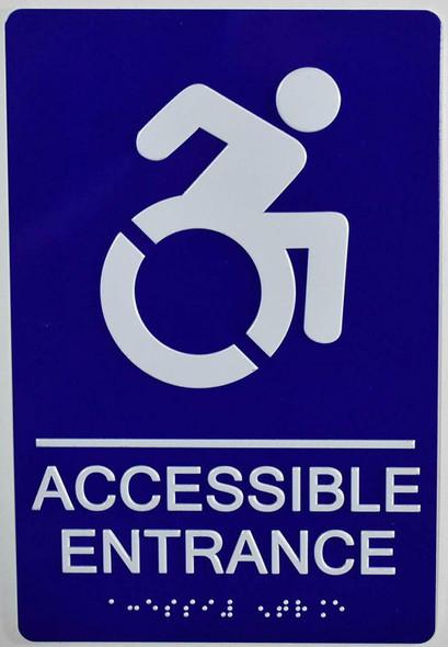 ACCESSIBLE Entrance  ,