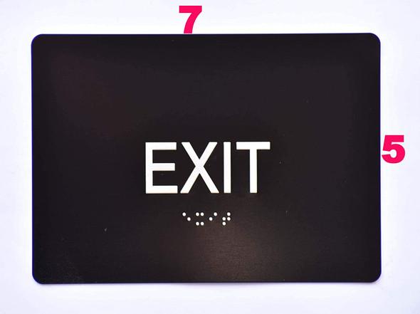 EXIT  Black ,
