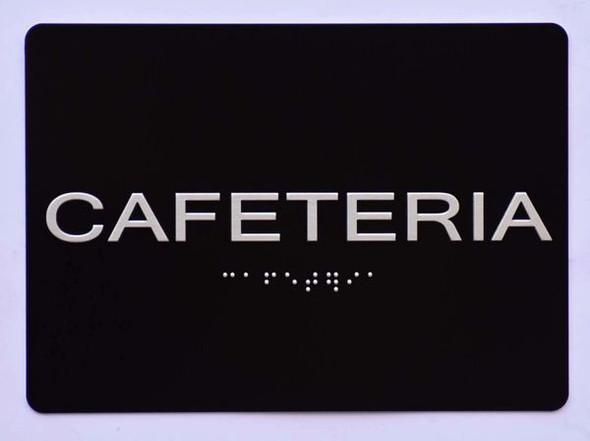 Cafeteria  Signage Black ,