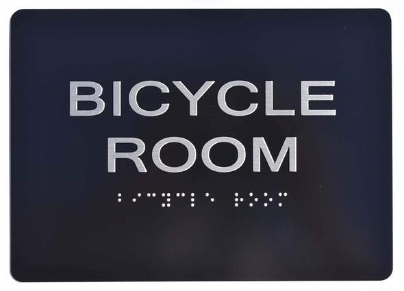Bicycle Room  Signage Black