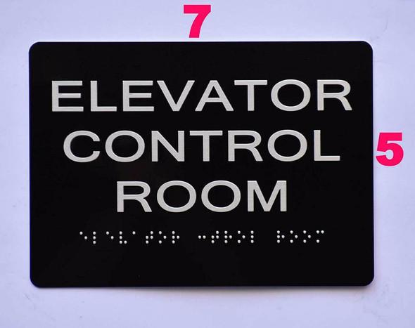 Elevator Control Room  Black ,