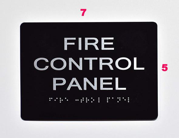 FIRE Control Panel  Black ,