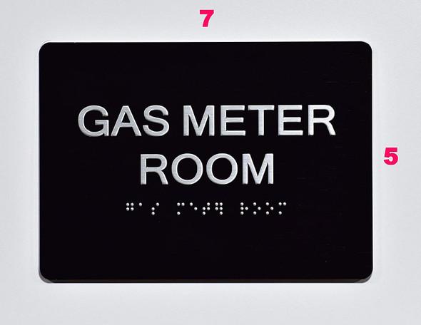 Gas Meter Room  Black ,