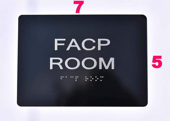 FACP Room  - Black ,
