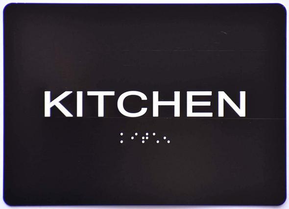 Kitchen  Signage Black ,