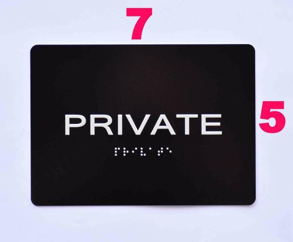 Private  -Black,