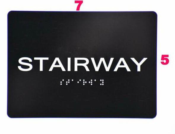 Stairway  -Black,