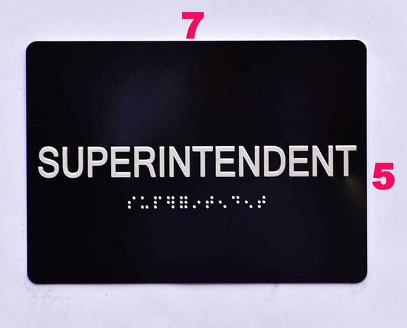 Superintendent  -Black,