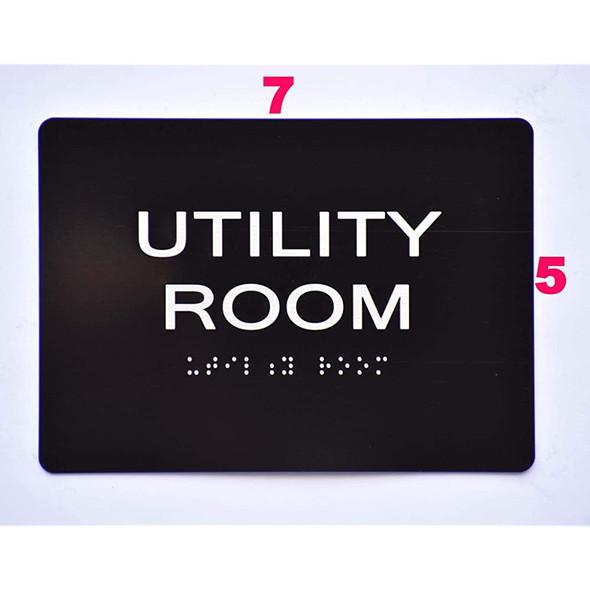 Utility Room  -Black,