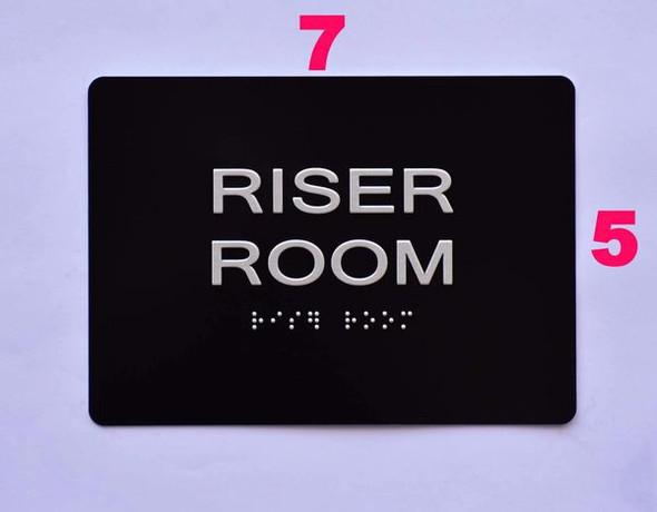 Riser Room  -Black,