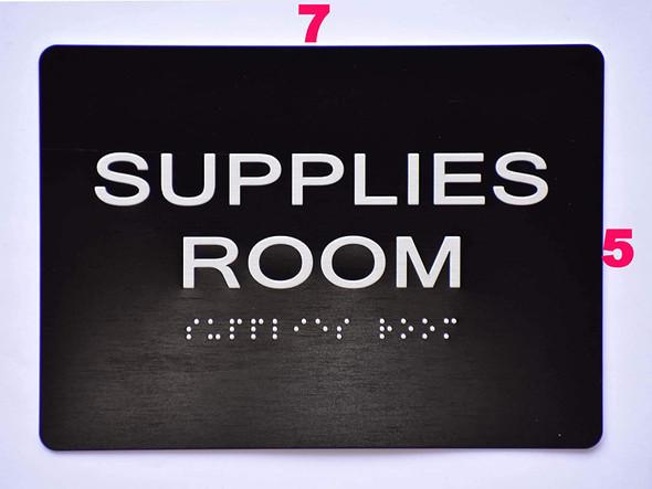 Supplies Room  -Black,