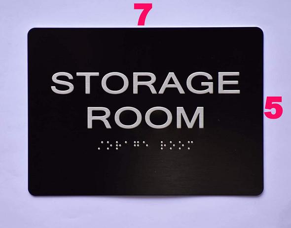 Storage Room  -Black,