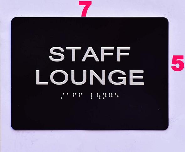 Staff Lounge  -Black,