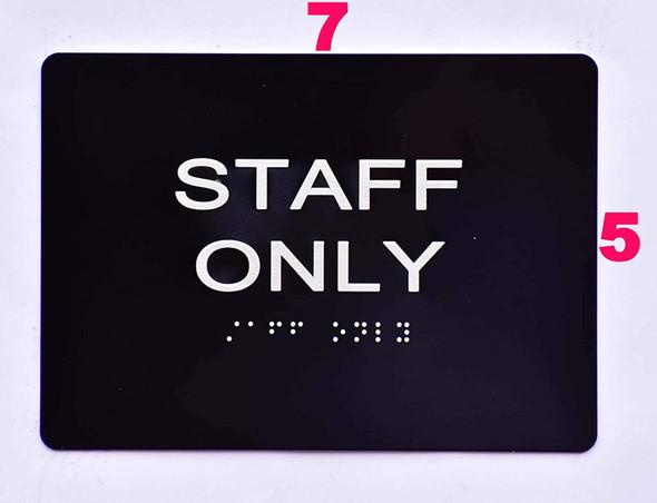 Staff ONLY  -Black,