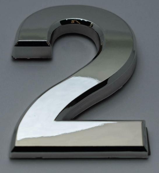 2 PCS - Apartment Number  Signage/Mailbox Number  Signage, Door Number  Signage. Number 2 ,3D