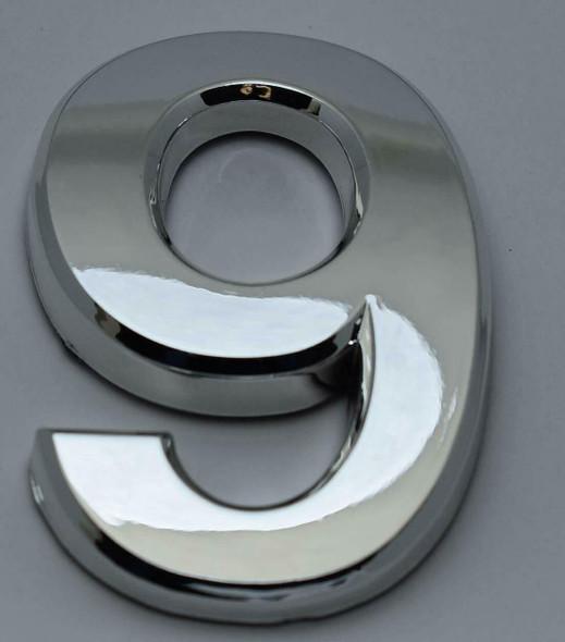 2 PCS - Apartment Number  Signage/Mailbox Number  Signage, Door Number  Signage. Number 9 ,3D