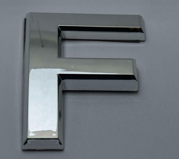1 PCS - Apartment Number  Signage/Mailbox Number  Signage, Door Number  Signage. Letter F ,3D