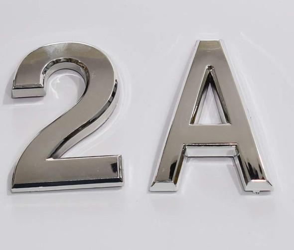 1 PCS - Apartment Number  Signage/Mailbox Number  Signage, Door Number  Signage. Letter 2A ,3D