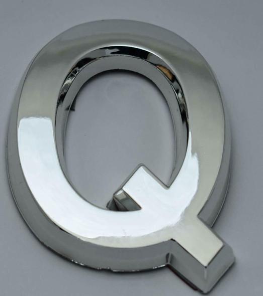 1 PCS - Apartment Number  Signage/Mailbox Number  Signage, Door Number  Signage. Letter Q ,3D