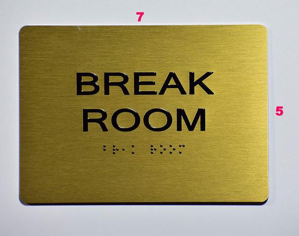 Break Room  -,