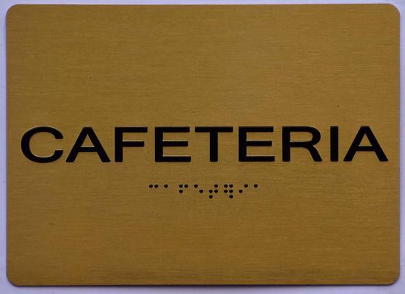 Cafeteria  Signage -,