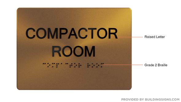 Compactor Room -,